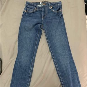 Loft Ankle Length Denim Jeans